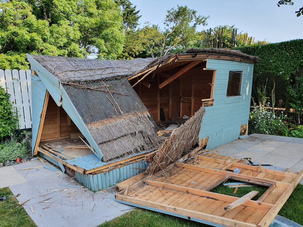 Shed Removal Antrim Cost